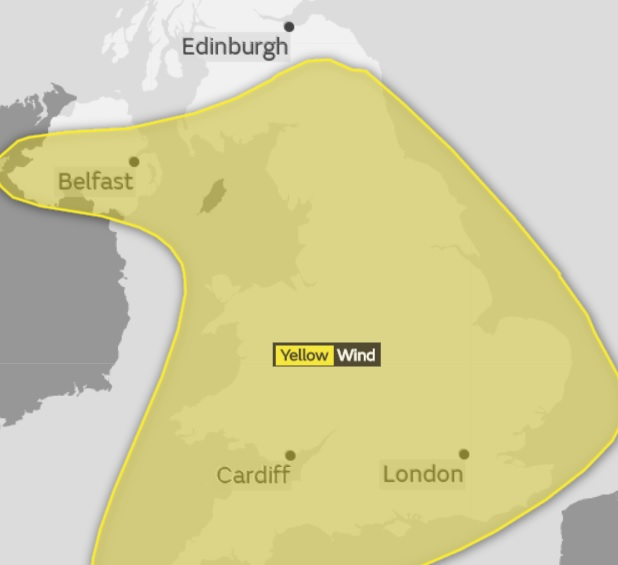 Storm Eleanor to batter East Devon - weather warning in place