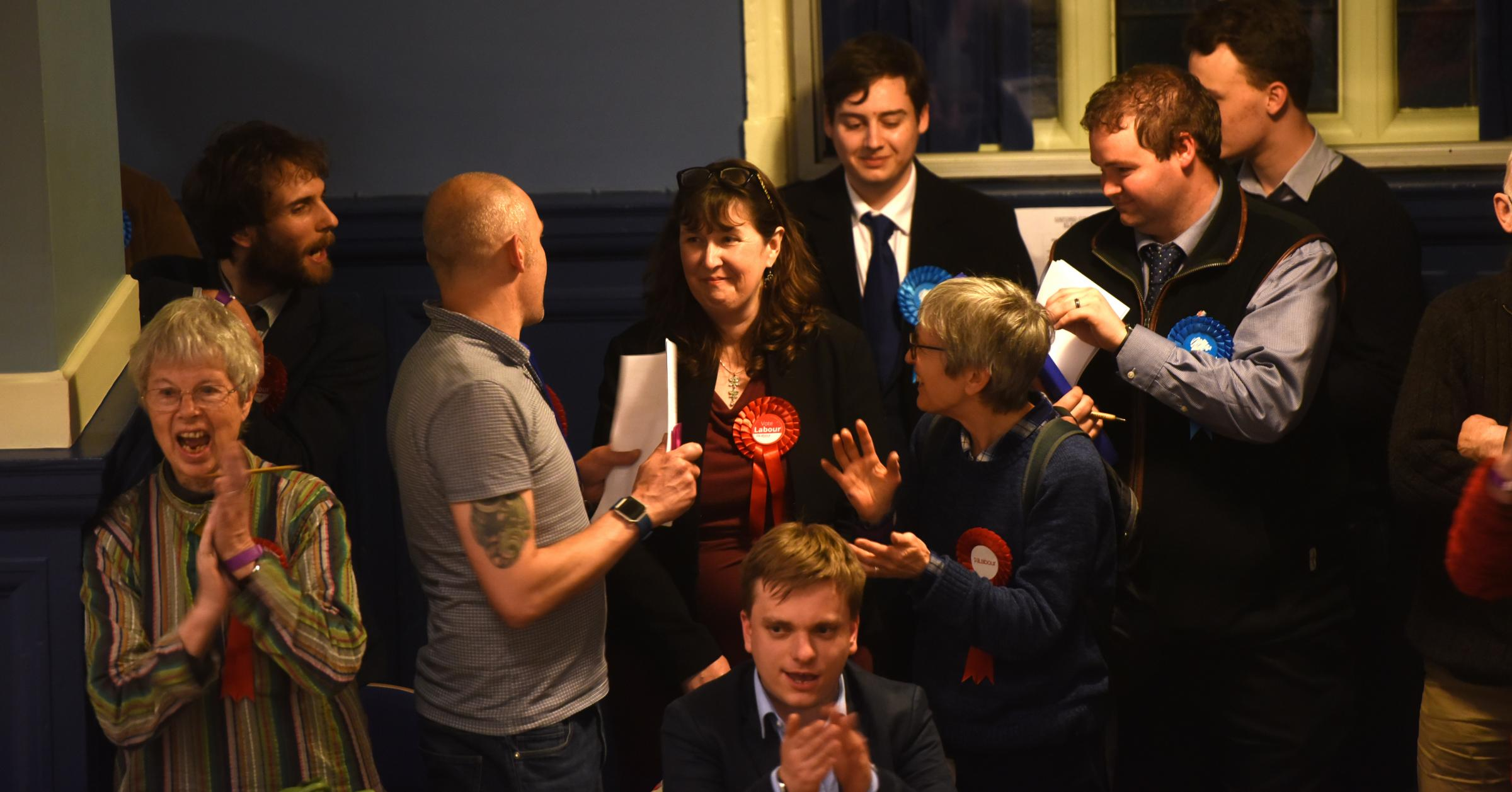 ELECTION 2018: Drama as Torie's grip across the Portsmouth area weakens