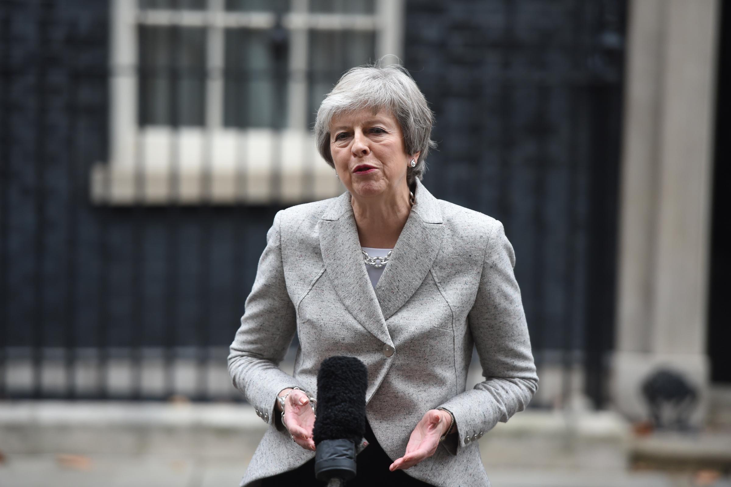European Union executive, Britain agree declaration on future ties